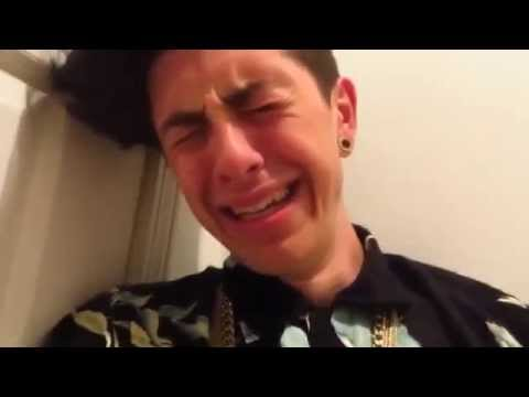 SAM PEPPER CRYING IN APOLOGY