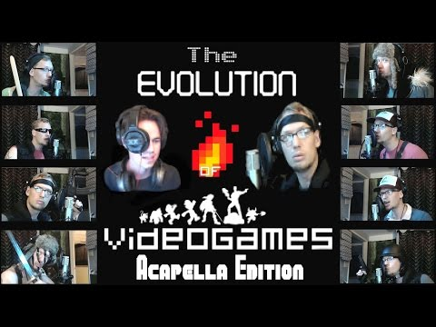 The Evolution of Video Games - Acapella Edition