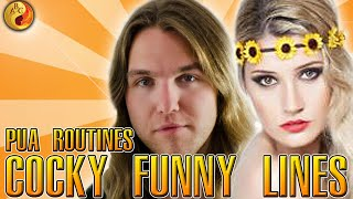 PUA Routines: Cocky Funny Lines, Bar Games, and How to Properly Compliment Girls (2 of 2)