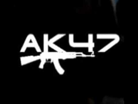 Надпись ак-47