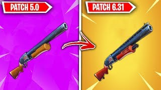 Top 5 TERRIBLE Fortnite Guns TURNED AMAZING!