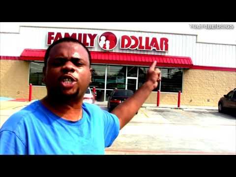 BLACK MAN ANGRY AT FAMILY DOLLAR @SIGGAS