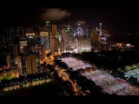 Hong Kong remembers Tiananmen Square massacre