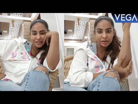 Actress Sri Reddy Latest Facebook Live video