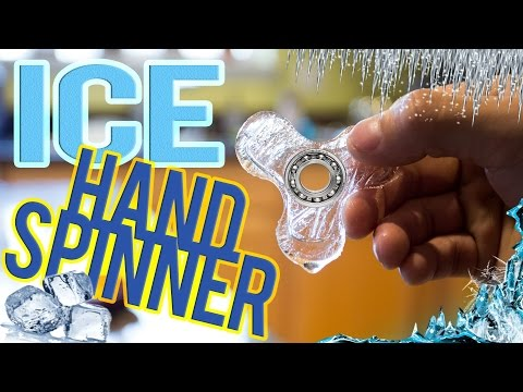 HAND/FIDGET SPINNER MADE OF ICE! *DIY*