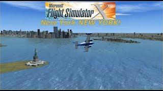 Microsoft Flight Simulator X - New York, NEW YOOORK!