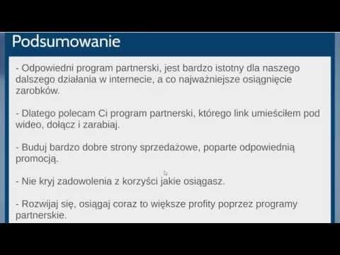Praca Przez Internet Na Programach Partnerskich
