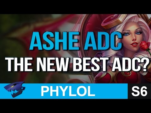 THE NEW BEST ADC? ASHE Gameplay (League of Legends)