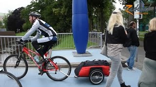 Bicycle Trailer Cyclone - The Expedition and Long Distance Bike Trailer | Radical Design
