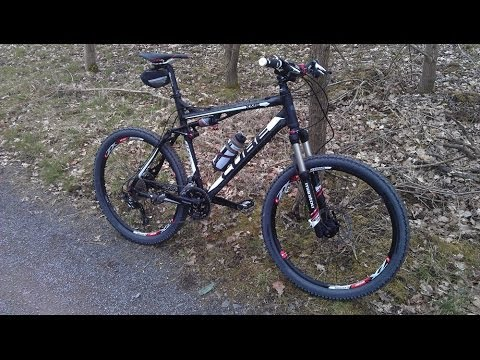 Cube XMS 2012 Full Suspension Mountain Bike - Manitou - Schwalbe - Ryder - Easton - Shimano XT - MTB