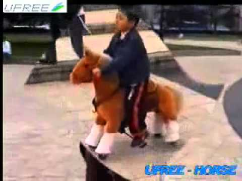 Pferd Reiten Spielzeug Fahrt Auf Pferd Spielzeug