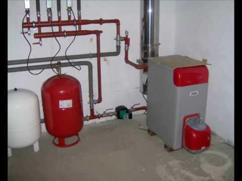 Instalação piso radiante hidraulico