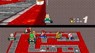 [TAS] [Obsoleted] SNES Super Mario Kart by Huffers in 23:10.88