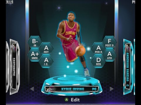 Sapphire Kyrie Irving Stats + Review   NBA 2k14 My Team