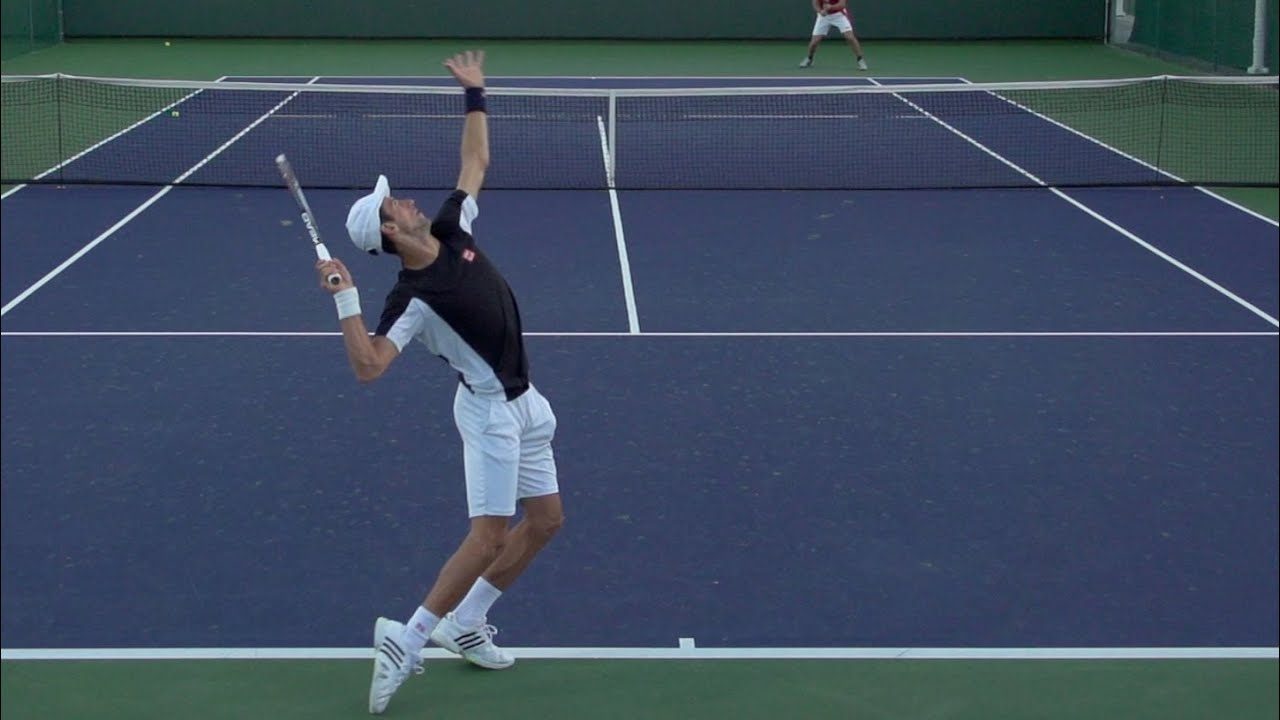 how to serve in tennis with power