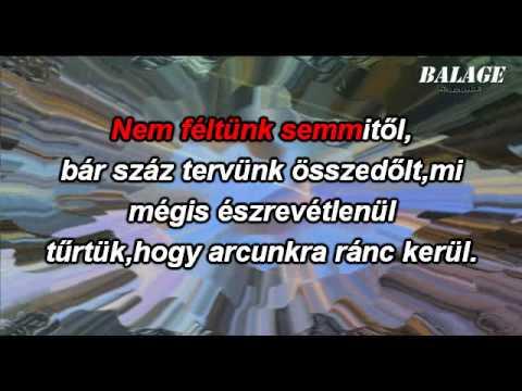 Ákos - Ilyenek Voltunk (karaoke)