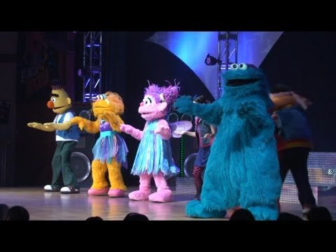 Elmo Rocks! Full Show - Seaworld Orlando W  Cookie Monster, Bert & Ernie, Abby Cadabby, Zoe video