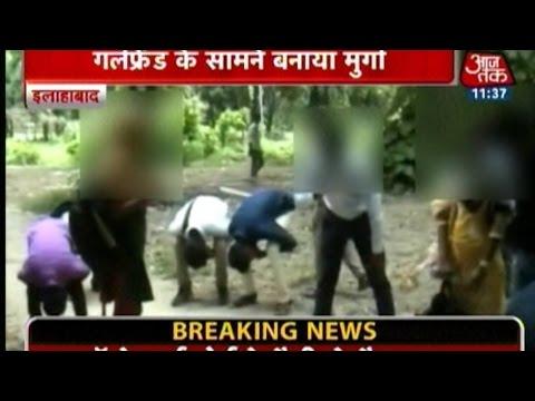 Uttar Pradesh: Police Slams Eve-Teasers & Minor's