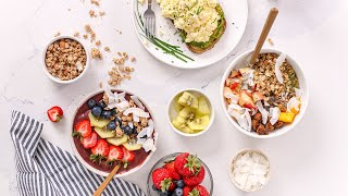 5 Minute Breakfast Recipes for Summer   Easy & Healthy