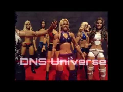 Wwe Divas Action Figures Animation Dns Figures Kelly Kelly Expose divas Atack video
