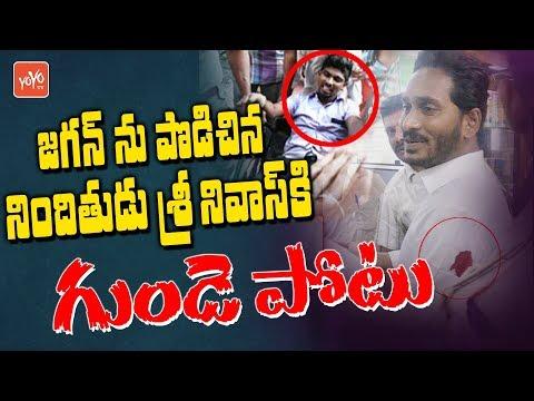 YS Jagan Attack Accused Srinivas Got Heart Problem | Ysrcp | AP Politics | Hero Sivaji | YOYO TV