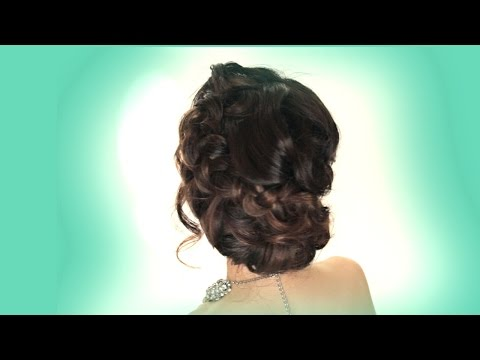 ► BRAIDED BUN HAIR TUTORIAL   PROM WEDDING HAIRSTYLES + UPDOS