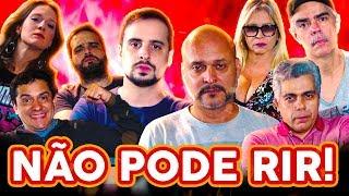 NÃO PODE RIR! com DUBLADORES - Garcia Júnior, Nizo Neto, Mônica Rossi e Cláudio Galvan