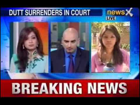 NewsX: Sanjay Dutt surrenders at TADA court