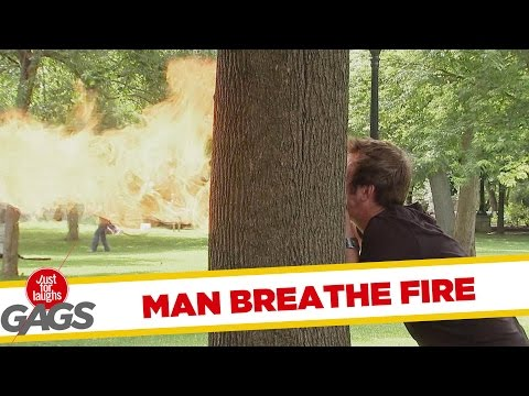 Man Breathes Fire Prank - Throwback Thursday