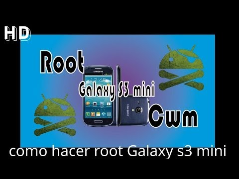 Como hacer Root y Recovery Cwm Galaxy s3 mini GT I8190L