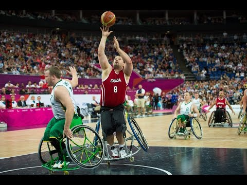 Wheelchair Basketball - AUS vs CAN - Men's Final - London 2012 Paralympic Games