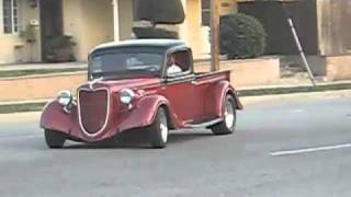1935 ford chopped truck
