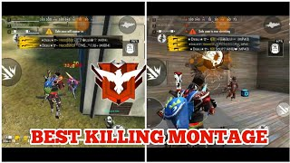 BEST KILLING MONTAGE FREE FIRE//GAMING SUBRATA