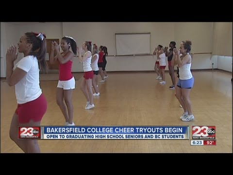 Bakersfield College Cheer Tryouts Begin