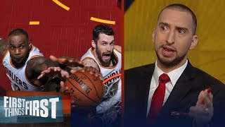 Nick Wright unveils how Kevin Love's return will impact LeBron's Cavs | FIRST THINGS FIRST