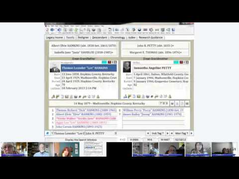 LVUG February 2013 Hangout - Searches in Legacy