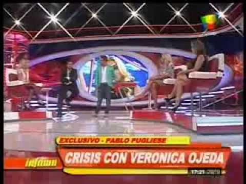 Pablo Pugliese en Infama: Es más creíble que Verónica me usó a mí