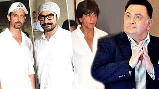Rishi Kapoor's ANGRY Message Gets SRK, Aamir & Others To Attend Vinod Khanna's Prayer Meet