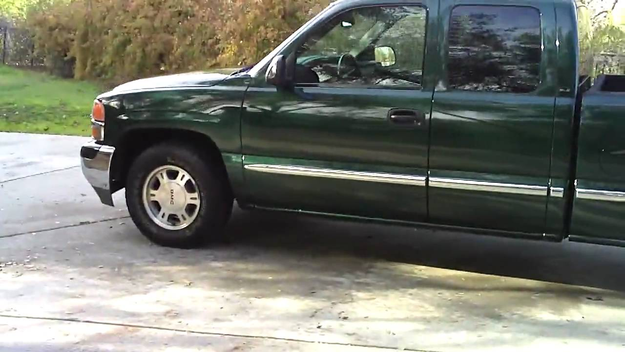 2002 GMC SIERRA FOR SALE - YouTube