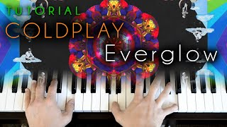 Coldplay - Everglow (piano tutorial)