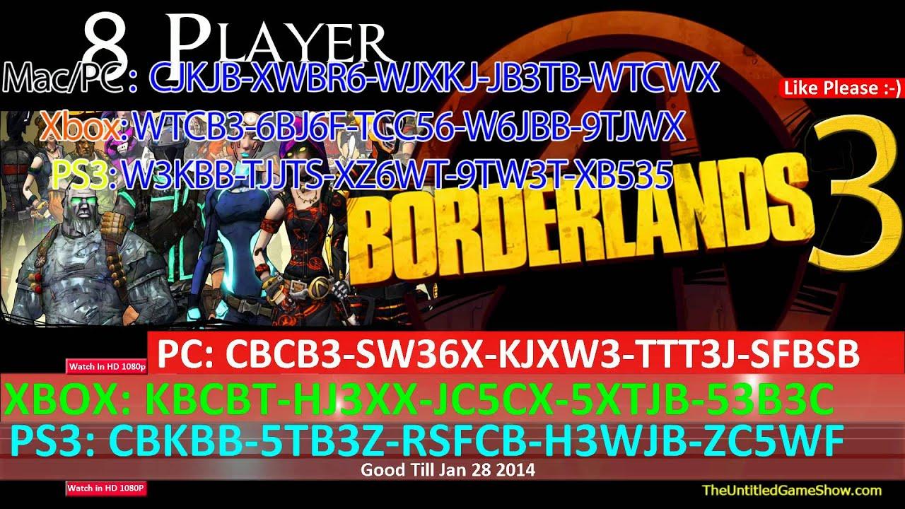10★ Weekend Golden Keys 2014 Borderlands 2 SHIFT Codes PC ... Borderlands 2 Shift Codes