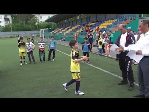 Награждение призеров первенства ВКО по футболу среди 2007 г.р