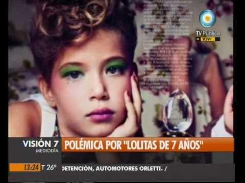 """Visión Siete: Polémica por """"Lolitas"""" de 7 años"""
