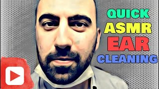 Quick ASMR Ear Cleaning Roleplay (Medical Doctor Exam)