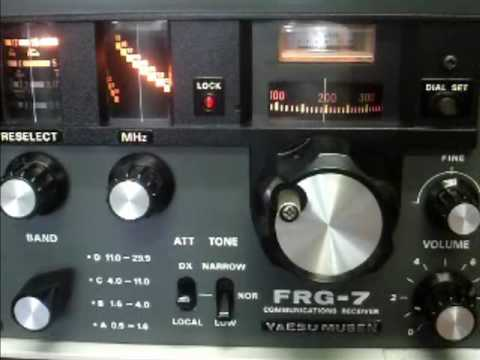 YAESU FRG-7 Communications Receiver