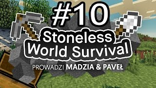 Stoneless World Minecraft Survival #10 /w Paveł [End]