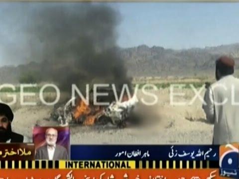 Kerry: U.S. Drone Strike Killed Taliban Leader