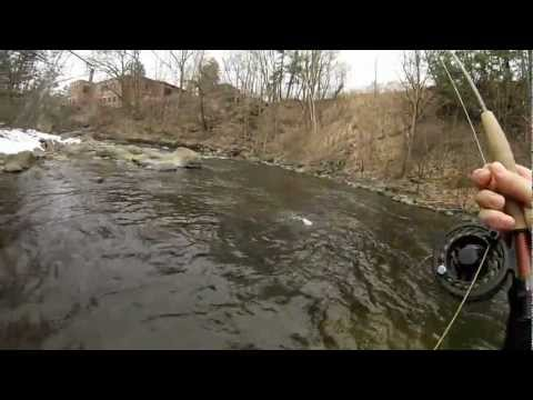 Green Mountain Ghillie - Fly Fishing Vermont & New Hampshire Winter 2012-2013