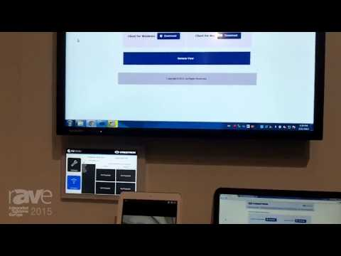 ISE 2015: Crestron Features Air Media AM-100 Presentation Gateway