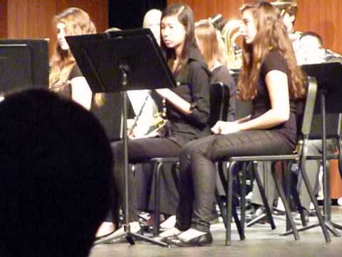 Chanhassen High School 9th Grade Concert Band. Third Movement of In the Forest of the King